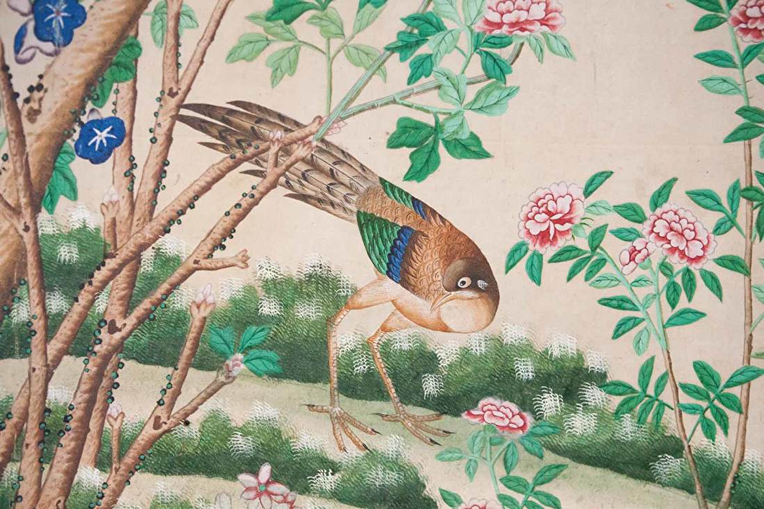 Chinoiserie birds