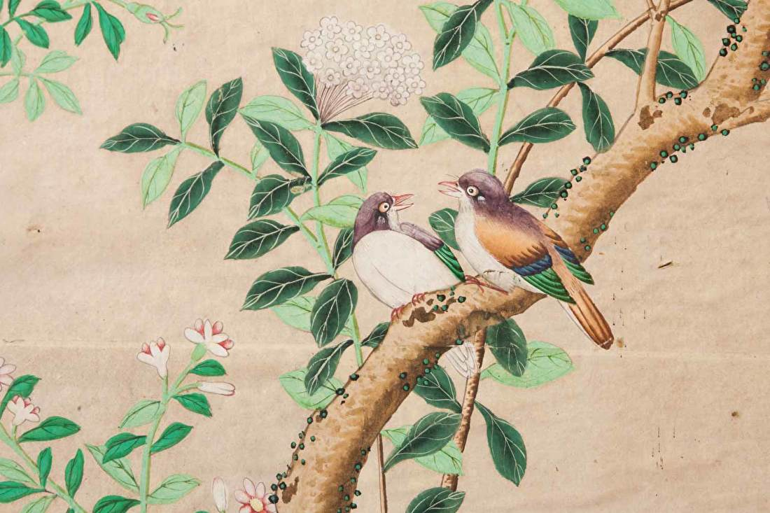 Chinoiserie vogels