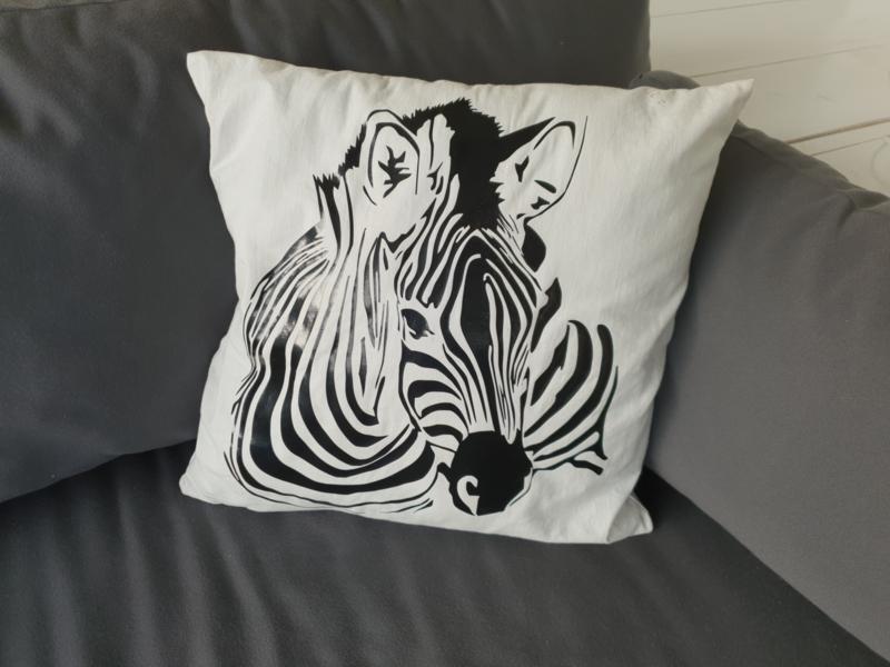Woonkussen Zebra