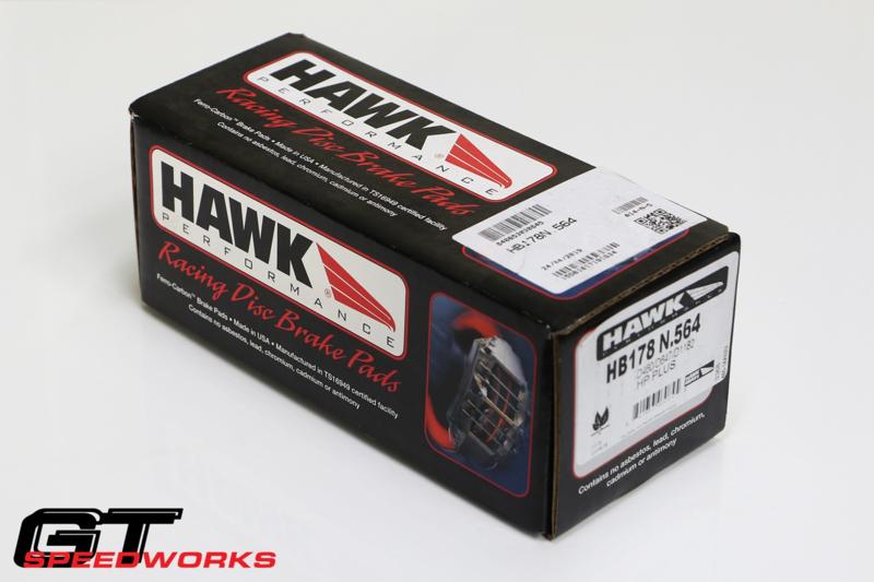 Hawk HP+  WRX voorzijde
