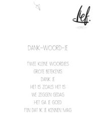 DANK-WOORD-JE