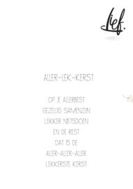 ALLER-LEK-KERST