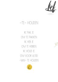 -TE- HOUDEN