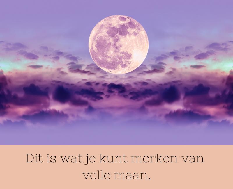 de kenmerken van volle maan