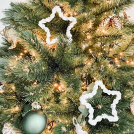 Macramé Sterretjes Kerstversiering