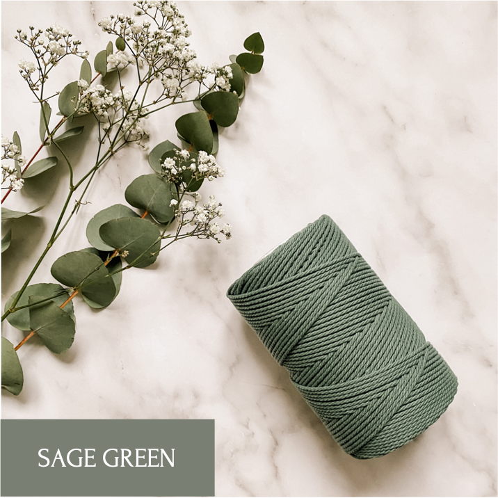 Macrame Sage Green