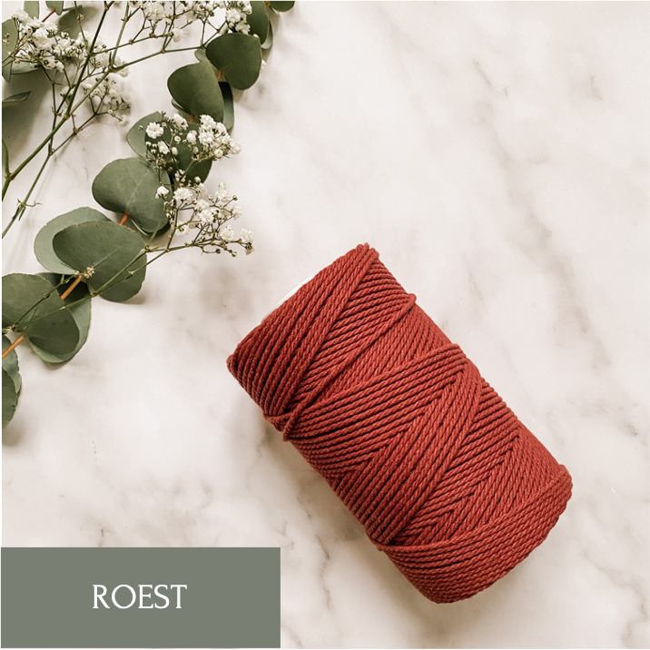 Macrame Roest 3mm
