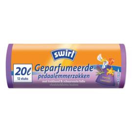 Swirl pedaalemmer zakken vanille 12stuks
