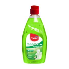 Vaatwasmiddel 500ml CLEAN origineel limoen