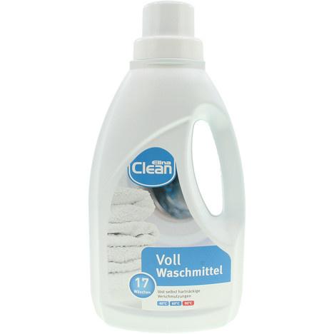 Clean wasmiddel wit 1L | 17 wasbeurten