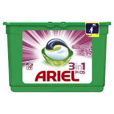Ariel 3 in 1 pods 19 wasbeurten