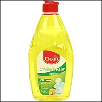 Vaatwasmiddel 500ml CLEAN origineel citroen