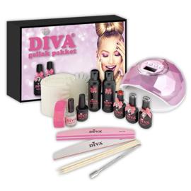 Diva Gellak Startset incl. UV-LED lamp