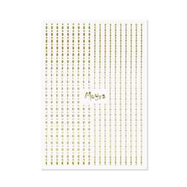 Moyra Nail Art Strips Dots No. 01 Gold