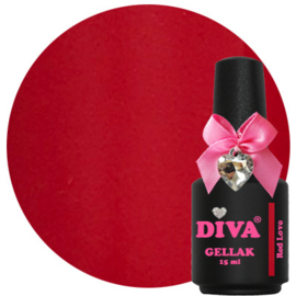 Diva Gellak Red Love 15ml