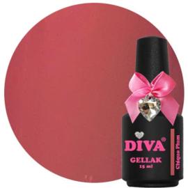 Diva Gellak Chique Plum 15 ml