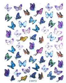Butterfly Nail art Stickers 9