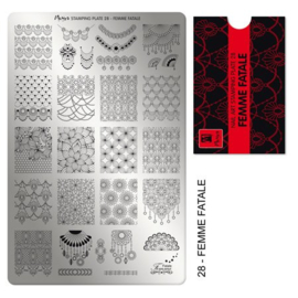 Moyra Stamping Plate 28 Femme Fatale