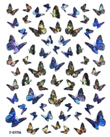 Butterfly Collectie Laser Stickers 10 pcs