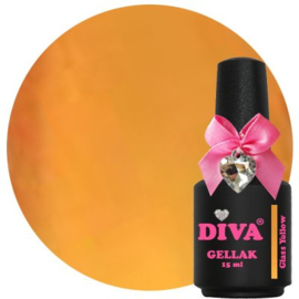 Diva Gellak Glass Yellow 15ml
