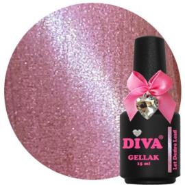 Diva gellak cat eye Let desire Lead 15ml