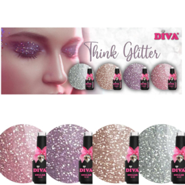 Diva gellak collectie Think Glitter
