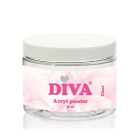 Diva Acryl Poeder Clear 45gr