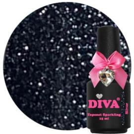 Diva silver topgel zonder plaklaag