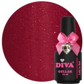Diva Gellak Lady in Red 15 ml