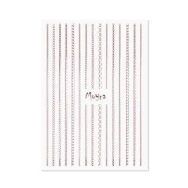 Moyra Nail Art Strips Chaine 03 Rose
