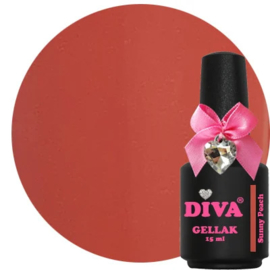 Diva Gellak Sunny Peach 15 ml