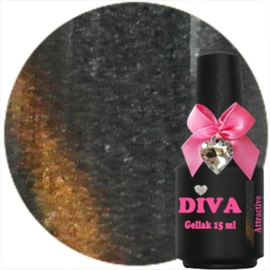 Diva Gellak Cat Eye Attractive 15ml