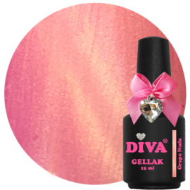 Diva Gellak Cat Eye Grape Nude 15ml