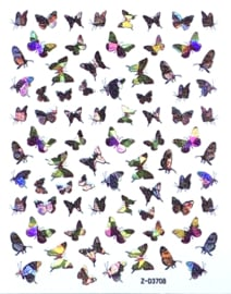 Butterfly Nail art Stickers 6