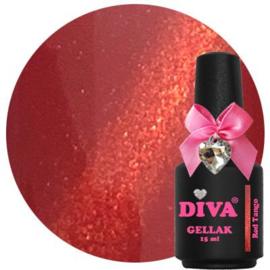Diva Gellak Cat Eye Red Tango 15ml