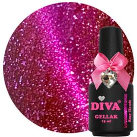 Diva Gellak Cat Eye Rosy Clouds 15ml