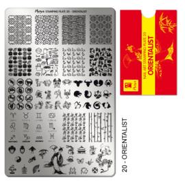 Moyra Stamping Plate 20 Orientalist