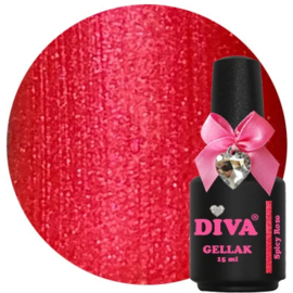 Diva Gellak Spicy Rose 15 ml