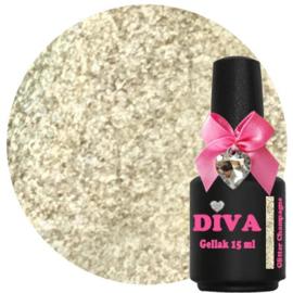 Diva Gellak Glitter Champagne 15ml