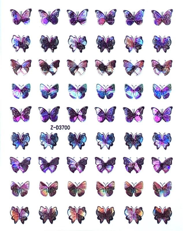 Butterfly Nail art Stickers 7