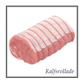 Rosé kalfsvlees | Rollade