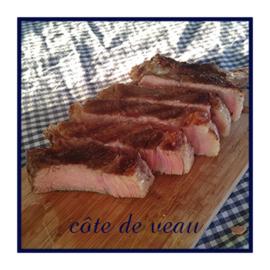 Rosé kalfsvlees | Côte de Veau