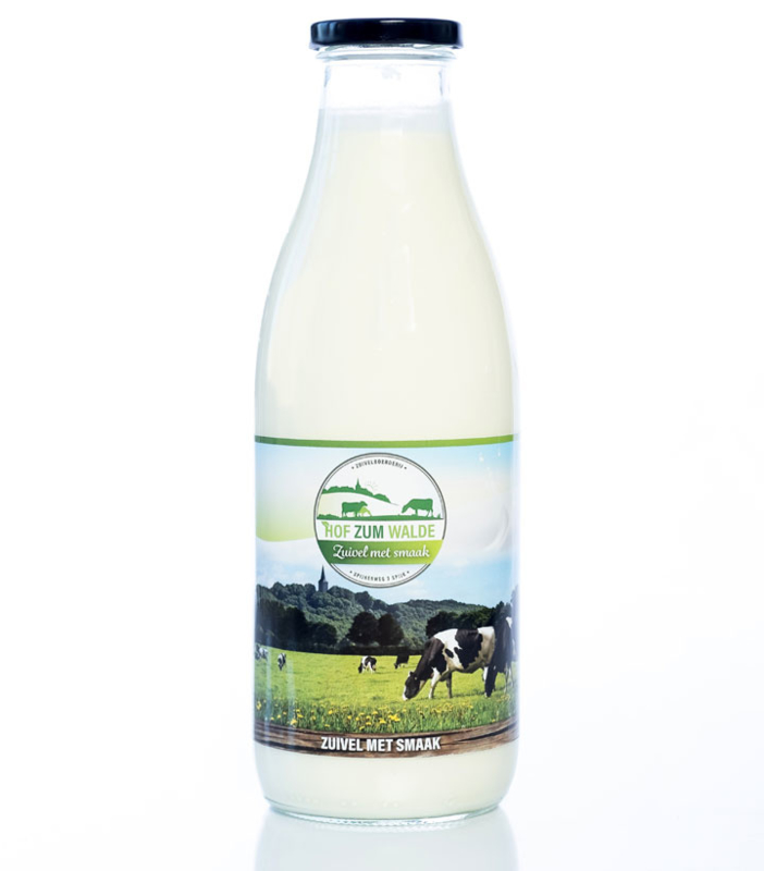 Hof zum Walde zuivel |  Volle melk 1 liter