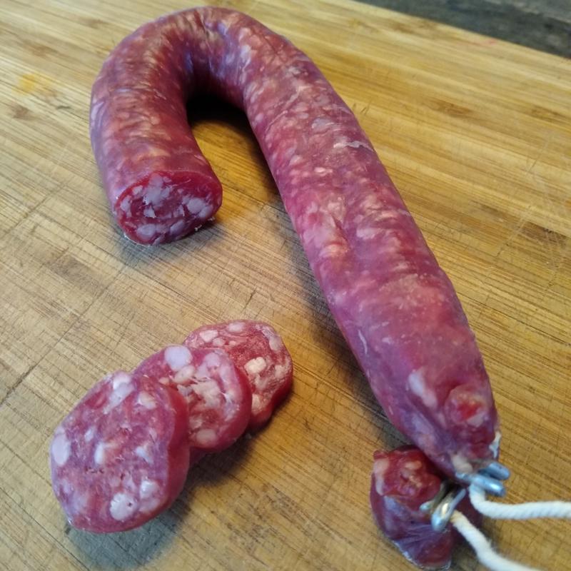 Rosé kalfsvlees   Droge worst