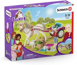 Paardenkoets voor de paardenshow Schleich 42467