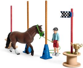 Pony behendigsheids set Schleich 42482