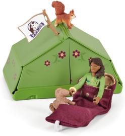 Camping avontuur Sarah - Schleich 42533