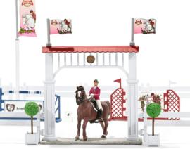 Wedstrijd toernooi met paarden Schleich 42338