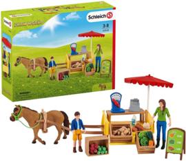 Boeren marktkraam Schleich 42528