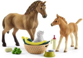 Babydieren verzorgings set Schleich 42432